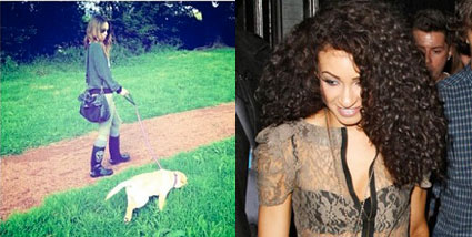 danielle peazer straight vs curly hair