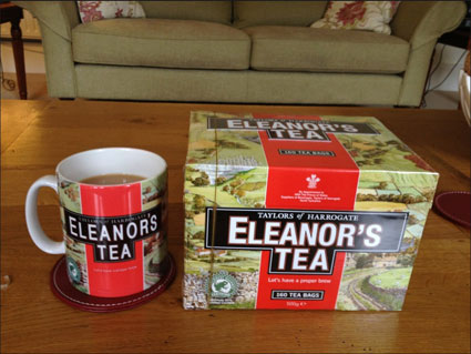 louis tomlinson girlfriend eleanor calder personalised yorkshire tea