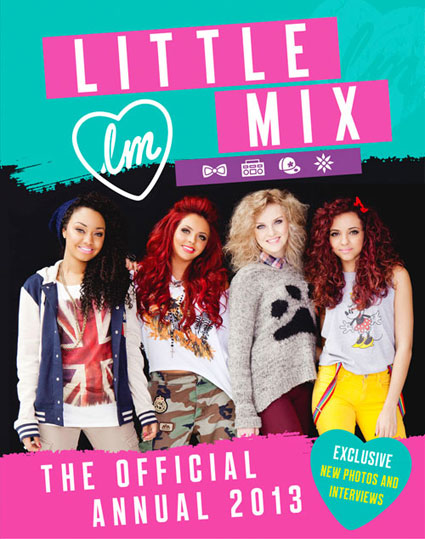 little mix official annual 2012