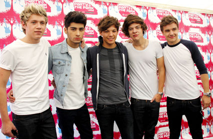 one direction at party in the park 2012