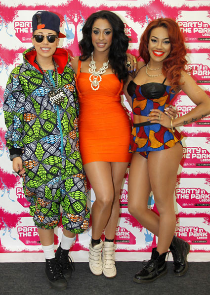 stooshe at party in the park 2012