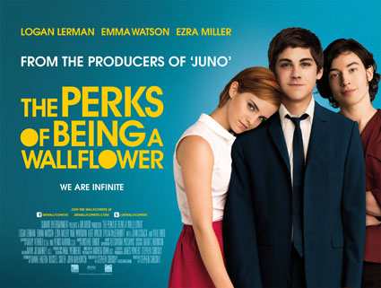 perks of being a wallflower uk poster