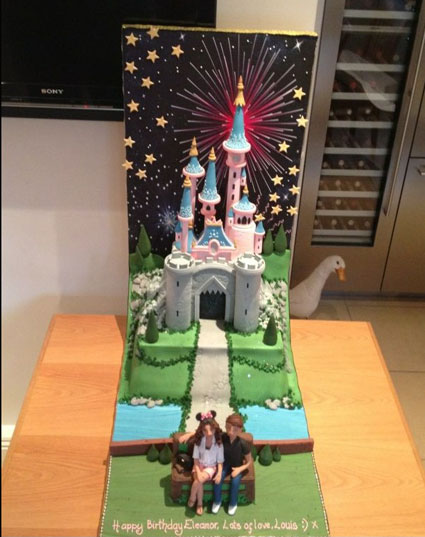 louis tomlinson buys birthday cake for girlfriend eleanor calder