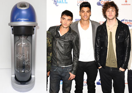 the wanted signed sodastream