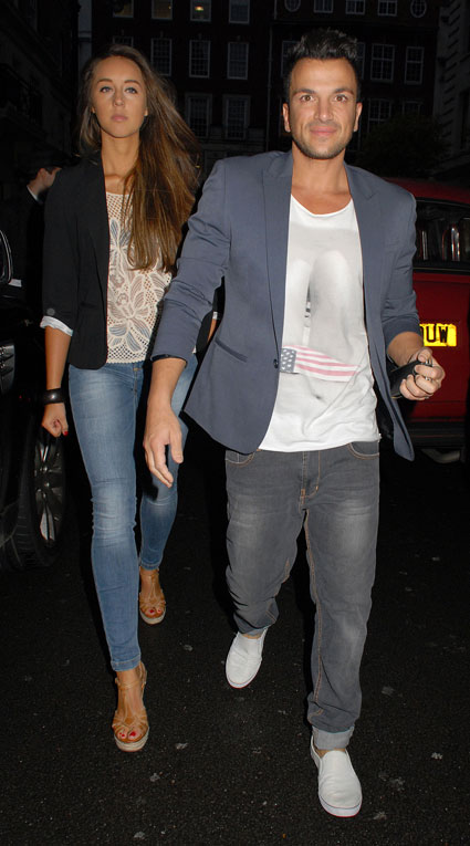 Peter Andre and new girlfriend