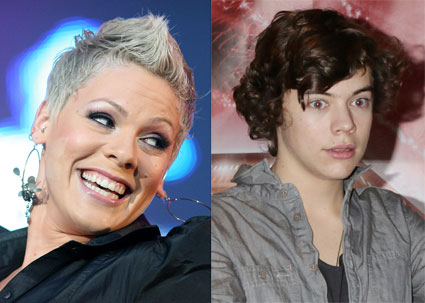Pink wants to be Harry styles cougar?