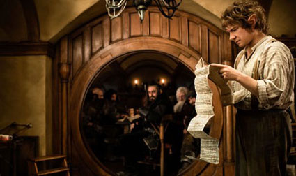 Peter Jackson announces third hobbit film