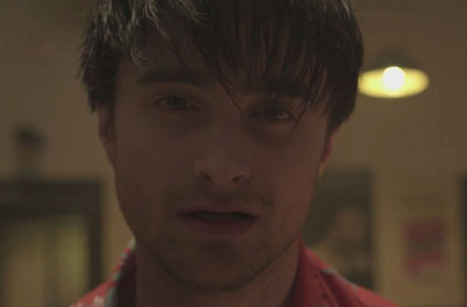 Daniel Radcliffe in a music video