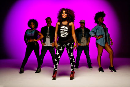 Misha B on set of Home Run