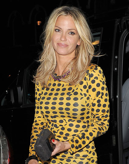 Sarah Harding working on solo music