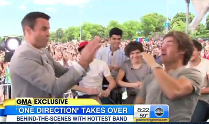 Liam Payne from One Direction has broken his toe - Good Morning America