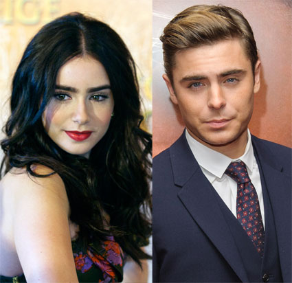Lily Collins and Zac Efron break up