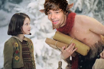 Liam Payne happens to be Mr Tumnus