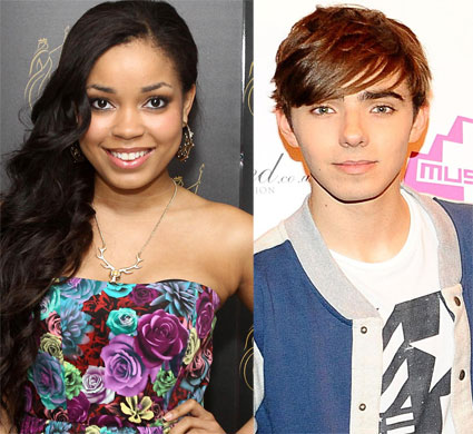 Nathan Sykes is dating Dionne Bromfield?