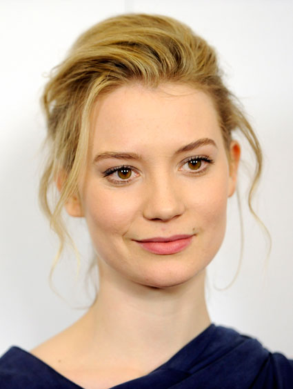 Mia Wasikowska for Johanna Mason in Hunger Games sequel Catching Fire?