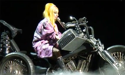 Lady Gaga debuts new song PRincess Die in Melbourne