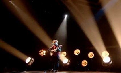 ed sheeran on the voice uk live final