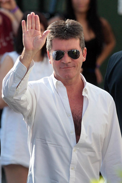 Simon Cowell launches food show