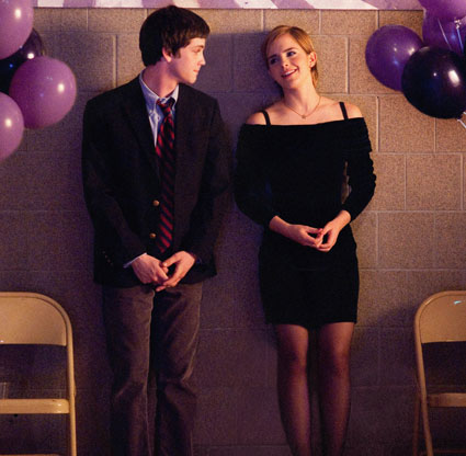 Emma Watson in The Perks of Being a Wallflower trailer