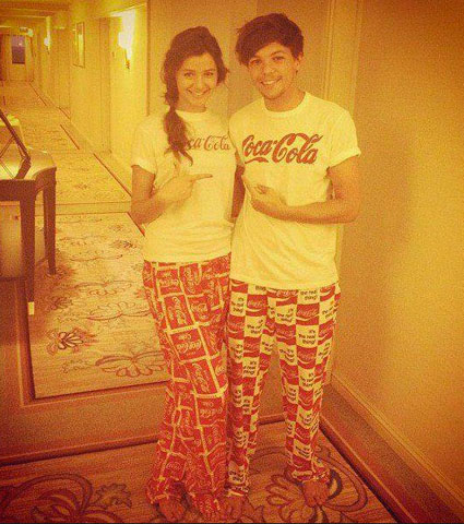 Louis Tomlinson and Eleanor Calder look the same