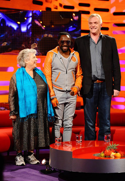 Will.i.am on The Graham Norton Show