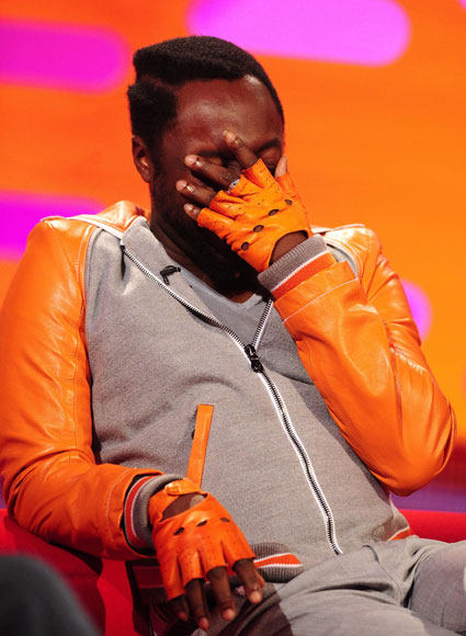 Will.i.am on the graham norton show tonight