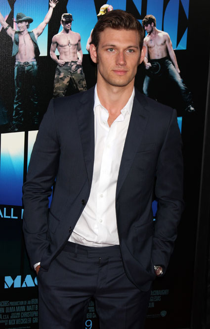 Alex Pettyfer at Magic mike premiere