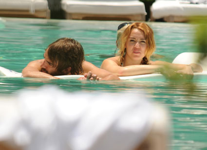 Miley Cyrus frolicks with man who isn't Liam Hemsworth