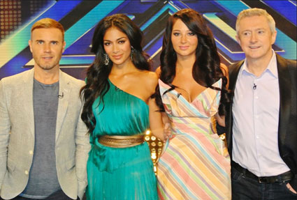 Cheryl Cole's niece auditions for the x factor