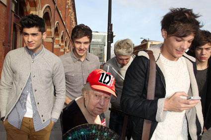 one direction and older fans
