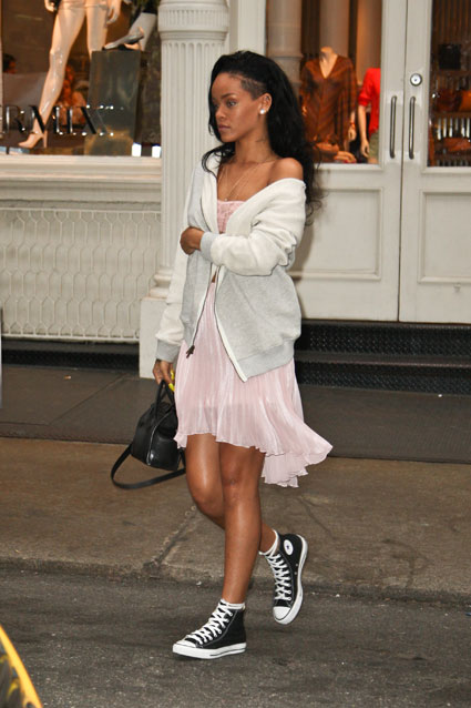 rihanna out shopping in new york city