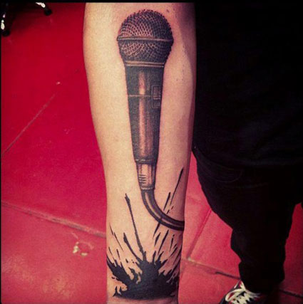 zayn malik new tattoo