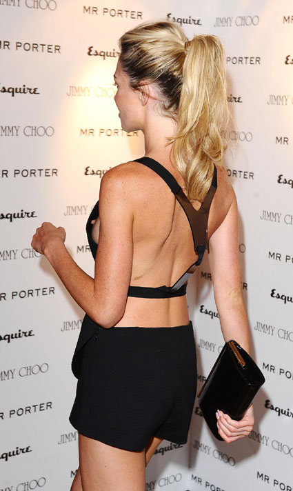 abbey clancy sideboob