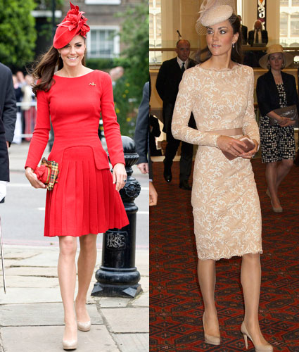 kate middleton in alexander mcqueen for the jubilee