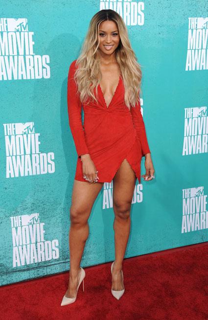 ciara at mtv movie awards 2012