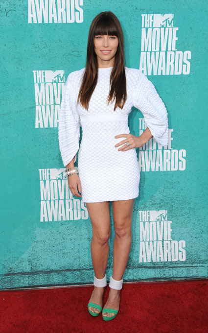 jessica biel at mtv movie awards 2012