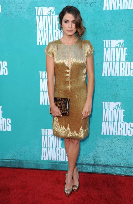 nikki reed at mtv movie awards 2012