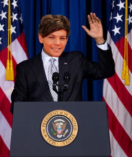 President Louis Tomlinson