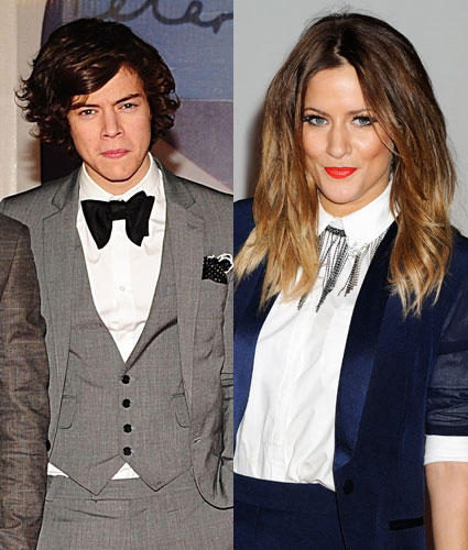 Harry Styles says Caroline Flack is a lovely girl