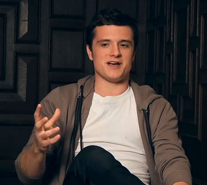 Josh Hutcherson talks to Teen Vogue