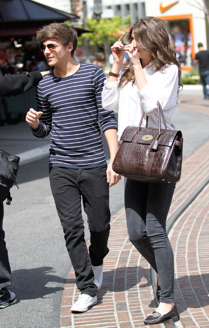 Louis Tomlinson and Eleanor Calder in LA