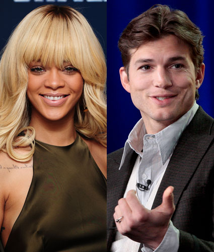 Rihanna and Ashton Kutcher are not dating