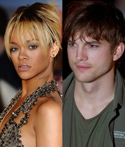 Rihanna and Aston Kutcher are not dating