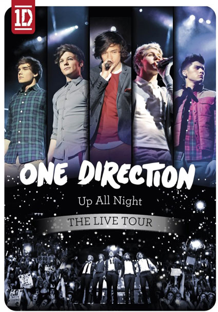 One Direction tour dvd cover