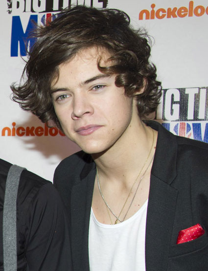 harry styles from big time rush movie premiere