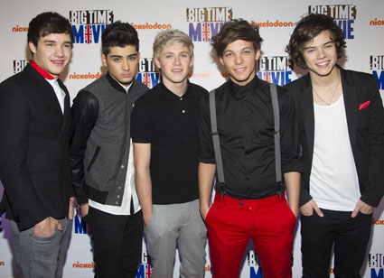 one direction at the big time movie premiere