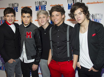 one direction at big time movie premiere