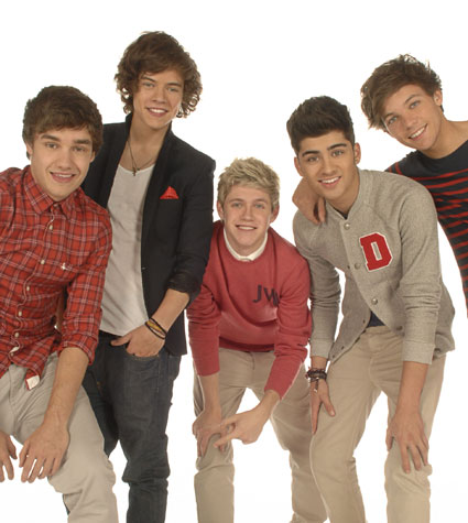 one direction new march 2012