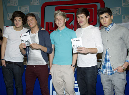 one direction at signing in new york 2012