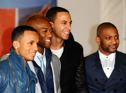 jls laugh off gay rumours.